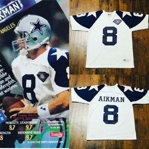 Aikman  1994 cowboys mavericks jersey nike starter
